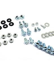 cheap -Round Head Screw Nut Washer 304 Stainless Steel Combined Cross Machine Screw Kit Set