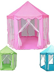 cheap -Play Tent & Tunnel Playhouse Tent Castle Princess Foldable Convenient Decompression Toys Comfy Polyester Fabrics Indoor Outdoor Spring Summer Fall 3 years+ All Pop Up Indoor/Outdoor Playhouse for