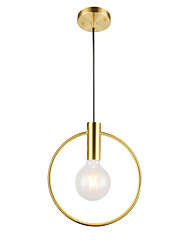 cheap -1-Light Northern Europe Modern Electroplated Pendant lighting Ceiling Mini Chandelier Hanging Lamp 1 Lights Fixture Flush Mount