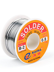 cheap -High Quality 63/37 Rosin Core Solder Wire Flux 2% Tin Lead Solder Iron Welding Wire Reel b-2 1.0mm 100g