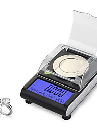 cheap -CX501 50g 0.001g Digital Electronic Scale 0.001g Precision Touch LCD Digital Jewelry Diamond Scale Laboratory Counting Weight Balance