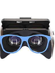 cheap -3D Glasses Blue VR Virtual Reality Glasses Cuboid Silicon