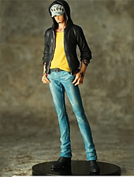 cheap -Anime Action Figures Inspired by One Piece Trafalgar Law 15 cm CM Model Toys Doll Toy