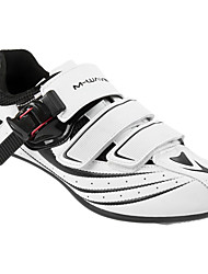 cheap -21Grams Road Bike Shoes Carbon Fiber Breathable Cushioning Ventilation Cycling / Bike Cycling Shoes White Men's Cycling Shoes / Ultra Light (UL) / Breathable Mesh / Ultra Light (UL)
