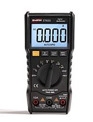 cheap -ET8101 Digital Multimeter 3 5/6 AC DC 6000 True RMS Digital Voltmeter 1000V 10A Mini Pocket Multimeter