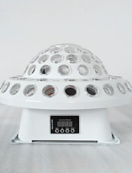 cheap -Cosmic Magic Ball Sound Control Lantern KTV Rotating Light Ballroom Light Di Bar Wedding Light LED Flash Laser Laser Light