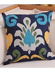 cheap -1 pcs Cotton / Linen Pillow Cover, Floral Halloween