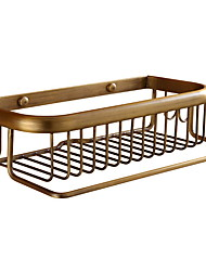cheap -Bathroom Shelf New Design / Cool Antique Brass 1pc Wall Mounted
