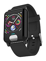 abordables -BoZhuo E04 Unisexe Bracelet à puce Android iOS Bluetooth Sportif Imperméable Moniteur de Fréquence Cardiaque Mesure de la pression sanguine Calories brulées ECG + PPG Podomètre Rappel d'Appel