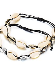 cheap -Women's Chain Bracelet Classic Ladies Romantic Hawaii Jewelry Shell Bracelet Jewelry Gold / Silver For Gift Festival