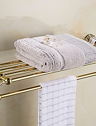 cheap -Bathroom Shelf Creative Contemporary Stainless Steel 1pc Double Wall Mounted