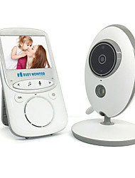 cheap -1 MP Baby Monitor 720P 2.4 HD Display Video Baby Monitor with Camera and Audio IPS Screen 480ft Range 4500 mAh Battery Two-Way Audio One-Click Zoom Night Vision and Thermal Monitor