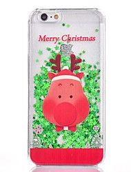 cheap -Case For Apple iPhone 8 Plus / iPhone 8 / iPhone 7 Plus Glitter Shine Back Cover Christmas Hard Plastic