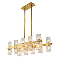 cheap -20 Bulbs QIHengZhaoMing 24 cm Chandelier Metal Electroplated Traditional / Classic 110-120V / 220-240V