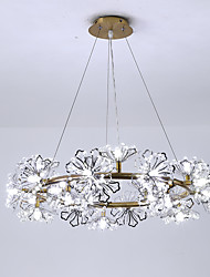 cheap -ZHISHU Circular Chandelier Ambient Light Electroplated Painted Finishes Metal New Design 110-120V / 220-240V Warm White / White Bulb Included / G4