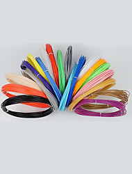 cheap -KCAMEL 3D printing supplies high quality、1.75mm PLA/ABS (10 meters, 20 colors per pack)