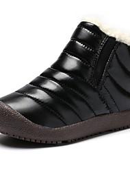 cheap -Girls' Snow Boots / Fur Lining PU Boots Little Kids(4-7ys) / Big Kids(7years +) Purple / Yellow / Pink Winter
