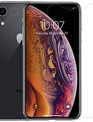 Недорогие -протектор экрана nillkin для яблока iphone xr домашнее животное 1 шт передний& Протектор объектива камеры ультратонкий / матовый / царапины