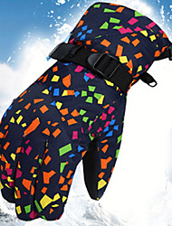 cheap -Sports Gloves Winter Gloves Ski Gloves Women's Snowsports Full Finger Gloves Winter Adjustable Waterproof Windproof Polyester / Polyamide Spinning Cotton Skiing Snowsports Snowboarding