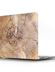 cheap -MacBook Case Wood Grain PVC for Air Pro Retina 11 12 13 15 Laptop Cover Case for Macbook New Pro 13.3 15 inch with Touch Bar