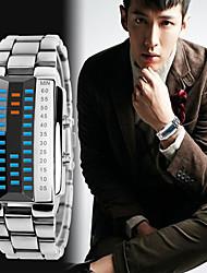 cheap -Men's Sport Watch Digital Watch Digital Digital Fashion Water Resistant / Waterproof Calendar / date / day Chronograph / Two Years / Stainless Steel / Japanese