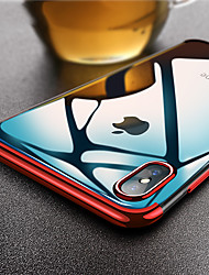 cheap -Case For Apple iPhone XS / iPhone XR / iPhone XS Max Ultra-thin / Transparent Back Cover Solid Colored Soft TPU