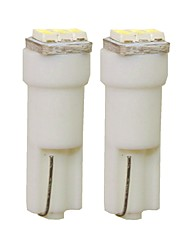 cheap -SENCART 2pcs T5 Car Light Bulbs 1 W SMD 3014 30 lm 3 LED Interior Lights For