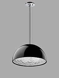 cheap -1-Light 40 cm Pendant Light Metal Bowl Painted Finishes Contemporary / Artistic AC100-240V