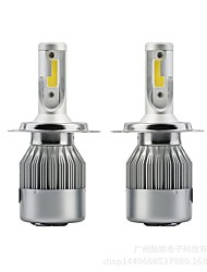 cheap -SENCART 2pcs H13 / 9004 / 9007 Motorcycle / Car Light Bulbs 36 W Integrated LED / COB 3800 lm 2 LED / Halogen Fog Light / Daytime Running Light / Headlamp For