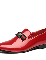 cheap -Men's Comfort Shoes Spring & Summer Classic / Casual Party & Evening Office & Career Loafers & Slip-Ons Faux Leather Non-slipping Wear Proof Black / Red / Blue / Tassel / Tassel