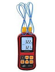 cheap -BENETECH GM1312 -50~300C Thermocouple Thermometer Dual-channel Digital Temperature Meter For K/J/T/E/R/S/N LCD Termometro