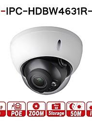 Недорогие -dahua® ipc-hdbw4631r-zs 6-мегапиксельная ip-камера cctv poe с электроприводом zoom 2.7-13.5 мм 50 м и слот для sd-карты сетевая камера h.265 ik10 ip67 варифокальная 5x