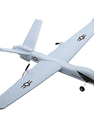 cheap -RC Airplane Z51 2ch 2.4G KM/H Unassembled Kit Brush Electric