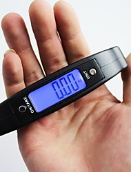 cheap -CX-A09 Portable 50kg / 10g Digital Electronic Hanging Scale LCD Display Luggage Weight Balance Steelyard Travel Bag Weight Hook Scales