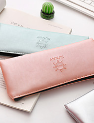 cheap -Pencil Cases Green / Pink / Silver, Polystyrene Soft Organization 1pc