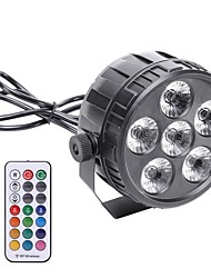 cheap -LED Stage Light / Spot Light DMX 512 / Master-Slave / Sound-Activated for Party / Stage / Bar Easy Carrying / Lightweight