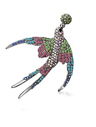 cheap -Women's Brooches Byzantine Animal Ladies Gothic Fashion Cute Brooch Jewelry Assorted Color For Ceremony Carnival
