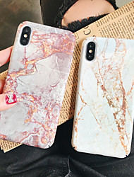 cheap -Case For Apple iPhone XS / iPhone XR / iPhone XS Max Pattern Back Cover Marble Hard PC