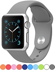 abordables -Bracelet de Montre  pour Apple Watch Series 5/4/3/2/1 Apple Bracelet Sport Silikon Sangle de Poignet
