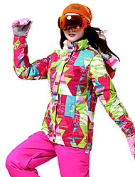 cheap -Wild Snow Women's Ski Jacket with Pants Ski / Snowboard Multisport Snowsports Windproof Warm Ventilation Polyester Clothing Suit Ski Wear / Winter