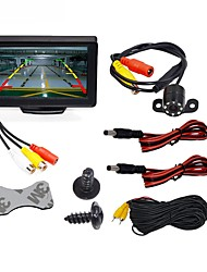 cheap -BYNCG WG4.3T-4LED 4.3 inch TFT-LCD 480TVL 480p 1/4 inch color CMOS Wired 120 Degree 1 pcs 120 ° 4.3 inch Rear View Camera / Car Reversing Monitor / Car Rear View Kit Waterproof / LED indicator