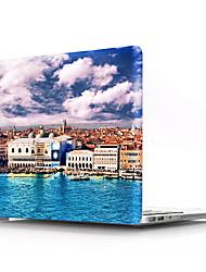 """Недорогие -MacBook Case with Protectors Эйфелева башня ПВХ для MacBook 12'' / Новый MacBook Pro 15"""" / New MacBook Air 13"""" 2018"""