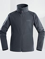 cheap -Men's Hiking Fleece Jacket Winter Outdoor Breathable Anatomic Design Wear Resistance Winter Jacket Fleece Single Slider Fishing Camping / Hiking / Caving Travel Black / Dark Grey / Army Green / Royal
