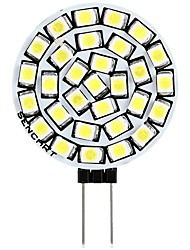 cheap -1pc 3 W LED Bi-pin Lights 180 lm G4 T 30 LED Beads SMD 2835 Decorative Warm White White 12 V
