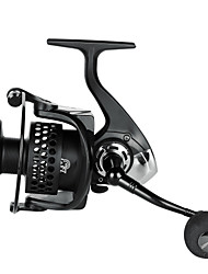 cheap -Fishing Reel Spinning Reel 5.2:1 Gear Ratio+13 Ball Bearings Hand Orientation Exchangable Sea Fishing / Bait Casting / Ice Fishing / Jigging Fishing / Freshwater Fishing / Carp Fishing / Bass Fishing