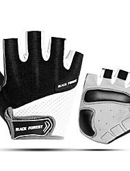 cheap -Acacia Bike Gloves / Cycling Gloves Mountain Bike Gloves Mountain Bike MTB Road Bike Cycling Breathable Cushion Anti-Slip Wearproof Fingerless Gloves Half Finger Sports Gloves Sponge Lycra Terry Cloth