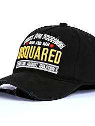 cheap -Men's Basic Polyester Baseball Cap-Solid Colored Black Army Green