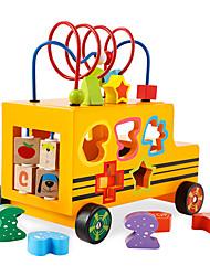abordables -Circuit à Bille Jouet trieur de forme Cool Exquis Interaction parent-enfant En bois Enfant Tous Garçon Fille Jouet Cadeau 1 pcs