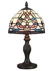 abordables -Tiffany Lampes ambiantes / Décorative Lampe de Table Pour Bureau / Bureau de maison / Magasins / Cafés Résine 110-120V / 220-240V