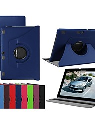 cheap -Case For Lenovo Lenovo Tab 3 10 Plus / Lenovo Tab 3 10 business(TB3-X70F / N) / Lenovo Tab 2 A10-70 360° Rotation / with Stand / Flip Full Body Cases Solid Colored Hard PU Leather